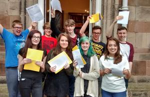 Outstanding GCSE Results!