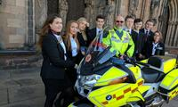 We're supporting Blood Bikes